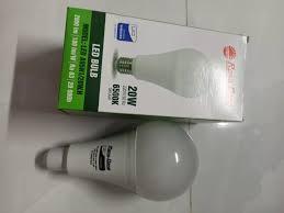 Bóng đèn led blulb tròn 20W ,ánh sáng trắng và vàng ( giá 120.000₫)