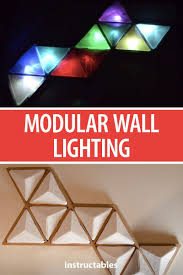 Diy Wall Light Panel Modular Wall Lighting Modular Walls Wall Light Fittings