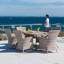 kool furniture. Contemporary Dining Table / Glass Synthetic Fiber Rectangular - KOOL :  6607PRL Kool Furniture