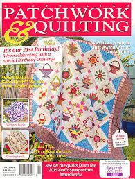 eQuilter Australian Patchwork & Quilting Magazine - Vol 25, No 4 & Australian Patchwork & Quilting Magazine - Vol 25, No 4 Adamdwight.com