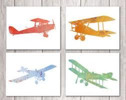 aviation wall art nursery
