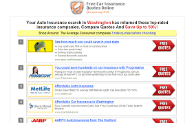 how to use auto insurance quotes websites