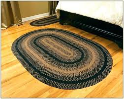 black star braided rugs oval 8 home design ideas for decor 0 throw washable area rug black and tan oval braided rugs