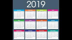 Calendar Free Downloads 2019 Calendar Free Download Youtube