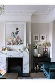 marble block fireplace