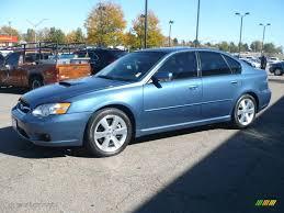 Newport Blue Pearl 2007 Subaru Legacy 2.5 GT Limited Sedan ...