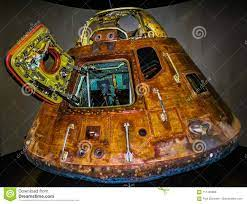 Raumkapsel Apollo 13 in Der Kennedy-Raummitte Cape Canaveral Florida USA  Stockfoto - Bild von kennedy, platz: 111435966