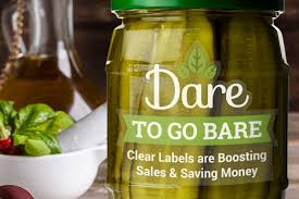 Tranparent Labels Dare To Go Bare Clear Labels Are Boosting Sales Stickeryou