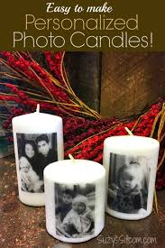 looking for simple personalized diy gift ideas these easy photo candles made with your favorite