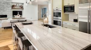 quartzite countertops have only recently become a top choice for kitchen countertops following the rise in popularity of white and gray colors in kitchen