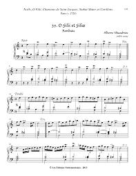 o filii et filiae dandrieu pierre petrucci music  javascript