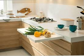 kitchen counter. Kitchen Design Idea - Pull-Out Counters (10 Pictures) // When You Counter E