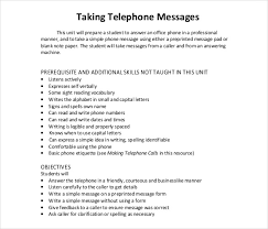 Telephone Message 21 Phone Message Templates Pdf Doc Free Premium Templates