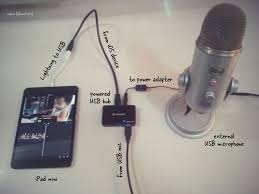 how to connect a usb microphone to your ipad or iphone connect microphone to ios device