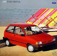 ford festiva io 1989 ford festiva hatchback new vehicle brochure
