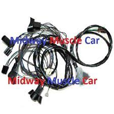 gto wiring harness parts & accessories ebay Wiring Harness For 1965 Pontiac Gto front end headlight wiring harness w standard headlights 1969 pontiac gto judge (fits 1964 Pontiac GTO