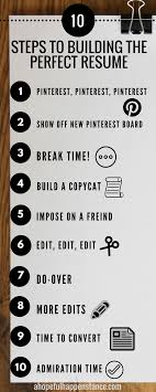 How To Write A Killer Resume In 10 Easy Steps Babies