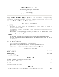 Accounting Graduate Resume No Experience Free Resume Example And