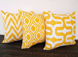 pillow accessories. yellow pillow covers set of three 20 x inches corn cushion cover modern mustard accessories