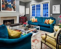 peacock blue furniture. Outstanding Blue Velvet Sofa Houzz Teal Tufted Sofas Couches Intended For Peacock Living Room Modern Furniture