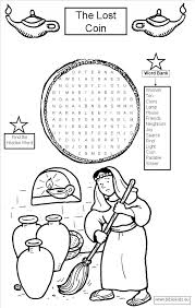 Small Picture Lost Coin Coloring Page Coloring Pages For Kids And For Adults