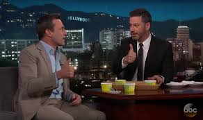 to enlarge jon hamm and jimmy kimmel give ted drewes frozen custard a literal thumbs up