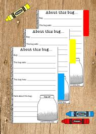 science fair headings printable my bug book printable playdough to plato