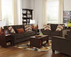 living room ideas for chocolate brown sofas sofa by signature design chocolate brown living room furniture i11 brown
