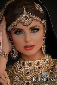 bridal makeup hairstyle collection beautiful gorgeous arabic stani wedding makeup indianjewelry indian jewelry in 2019
