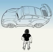 Porsche sketch quick sketch with a touch of photoshop. Artstation Akira Poster With Akira Nakai San Rwb 993 Kabuto Jarek Kwas Kwasniak