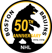 Boston Bruins Anniversary Logo - National Hockey League (NHL ...