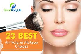 best all natural makeup brands