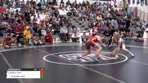 113 Round of 16 - Caleb Henson, Compound vs Wesley Conley, Armuchee High  School