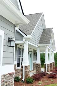 painting exterior trim. new house home exterior bright blue sherwin williams light houses stock photography image pictures of with painting trim