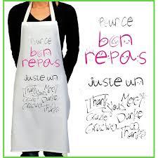 Tablier De Cuisine Rigolo Merci Cadeau Rigolo Pour Femme