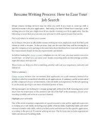 Writing A Good Resume How To Write Resumes Tips To Write A Good