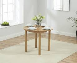 mark harris promo solid oak round drop leaf extending dining set with 2 atlanta red faux