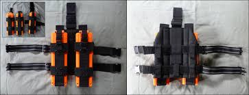 Nerf Magazine Holder NERF Drop Leg Mag Pouch Two x100 NERF clip holders attached Flickr 29
