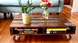 how to make coffee table out of pallets pallet coffee table coffee table using pallets