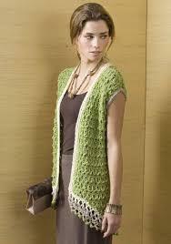 Free Crochet Vest Patterns Mesmerizing Popular Crochet Vest Pattern Rosario Vest Free Crochet Pattern