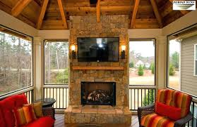 outdoor porch fireplace add a fireplace to your screened porch outdoor gas fireplace screened porch