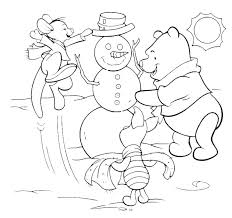 Coloring Pages Disney Christmas Coloring Sheets To Print Free