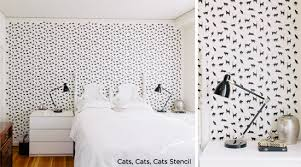 Love this stencil! Use Cats,Cats,Cats Stencil from Cutting