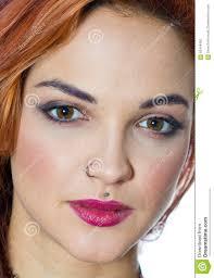 Girl With Piercings Stock Photo Image Of Medusa Teen 62448492