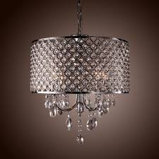 ... Beautiful Lightinthebox Modern Drum Chandeliers with 4 Lights Pendant  Light for Your Crystal Drum Chandelier ...