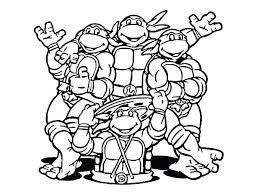 Ninja Turtle Coloring Pictures Coloring Pages Nick Coloring Pages