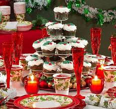 How To Decorate A Christmas Table For Christmas Party