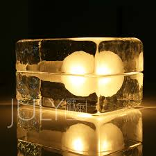 Ice Cube Table Lights Free Shipping Nordic July Brief Modern Bedside Ice Cube Lamp