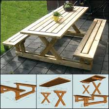 diy picnic table photo 3 of 7 unique picnic table plans ideas on picnic tables outdoor diy picnic table