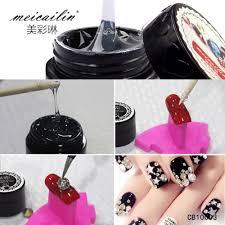 Meicailin 5g Nail Art Foils Transfer Glue Adhesive Star Glue Nail ...